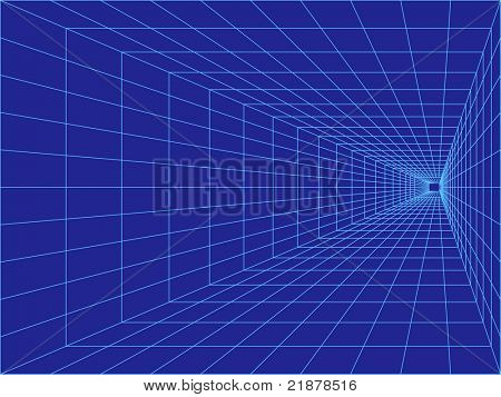 vector perspective grid great business background