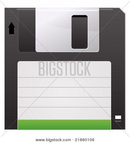 Vector diskette media