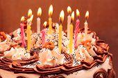 stock photo of birthday-cake  - Birthday cake - JPG