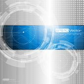 pic of mechanical drawing  - Abstract technology background  - JPG