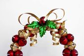 Jingle Bell Wreath poster