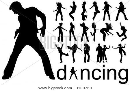Sillhouettes Dancing