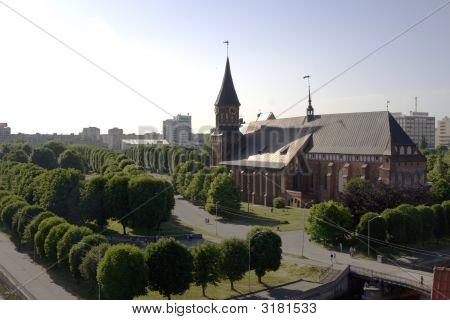 Panoramic View Of Kaliningrad City Russia
