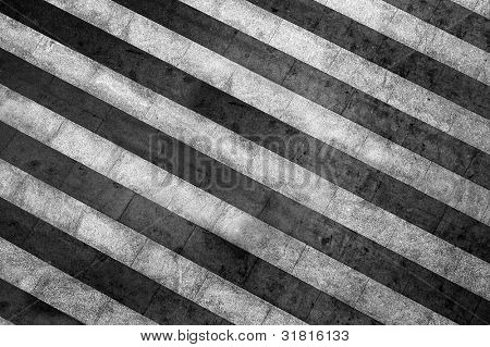 grunge striped black and white background