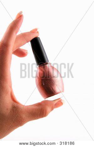 Fingernail Polish Bottle