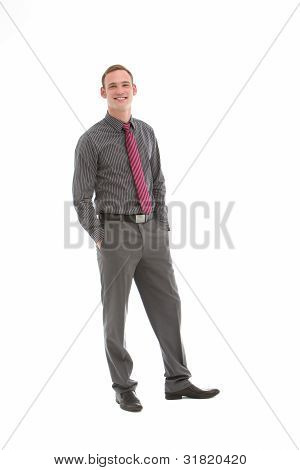 Elegant Stylish Businessman