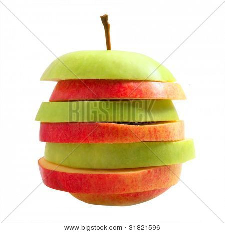 Mixed apple