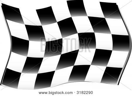 Race Flag Wind