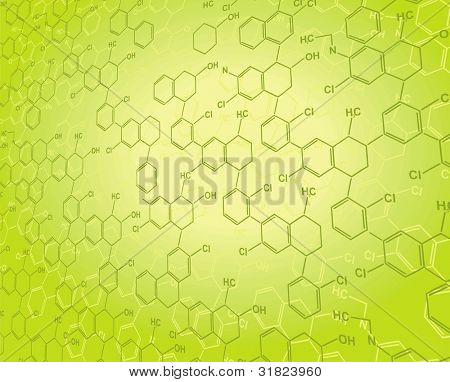 Vector Nanotechnology blue backgrounds