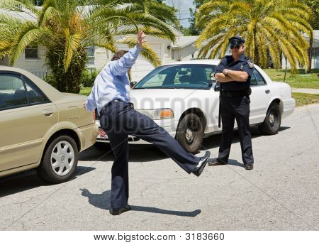 Traffic Stop - Sobriety Test