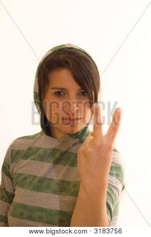 Offensive Female Thug