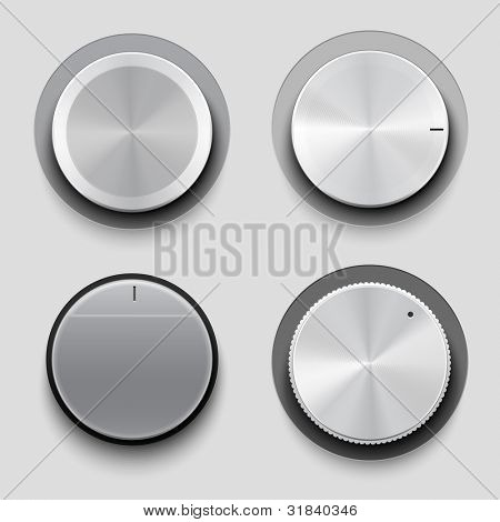 Control knobs set, UI series