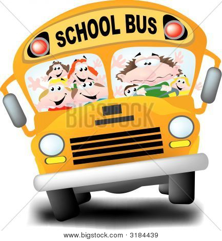 Frazzled School Bus Driver