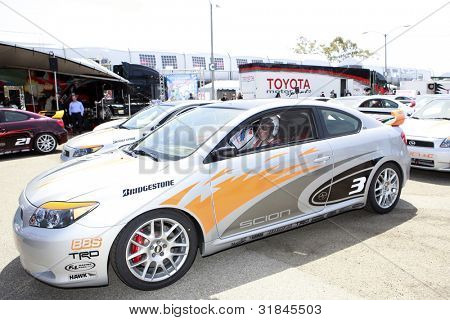 LONG BEACH, CA - APR 3: Kate Del Castillo at the 36th Annual 2012 Toyota Pro/Celebrity Race - Press Practice Day on April 3, 2012 in Long Beach, California