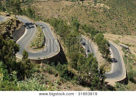 Road in Ethiopia