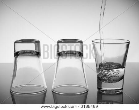 Three Shots Of Vodka