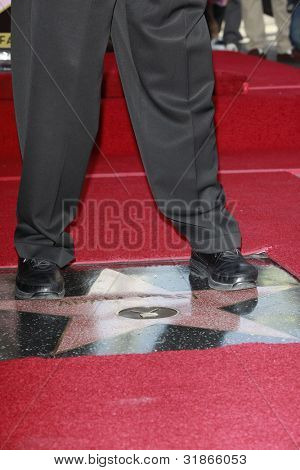 LOS ANGELES, CA - APR 5: Adam West at a ceremony where Adam West is honored with a star on the Hollywood Walk of Fame on April 5, 2012 in Los Angeles, California