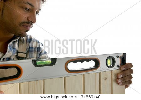 Craftsman with bubble level