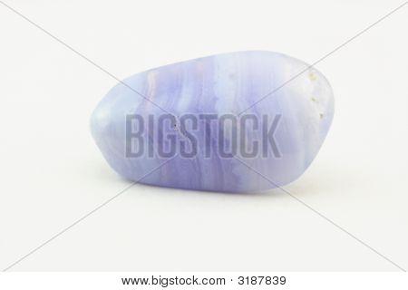 Bluelace Agate Birth Stone.