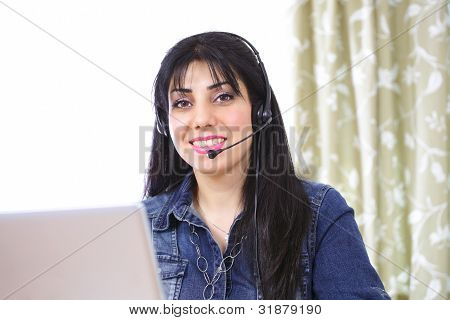 Internet Telephony Female