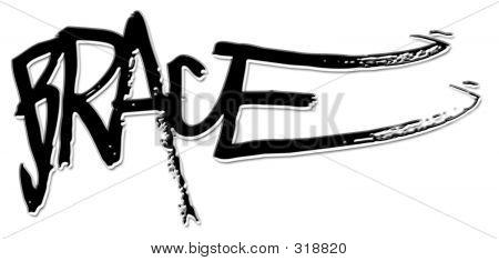 Brace Graffito