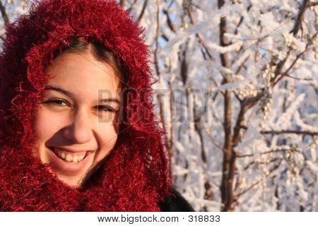 ethnische lächelnd mädchen