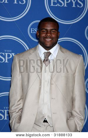 LOS ANGELES - JULY 14:  Alabama running back Mark Ingram in the Press Room of the 2010 ESPY Awards at Nokia Theater - LA Live on July 14, 2010 in Los Angeles, CA