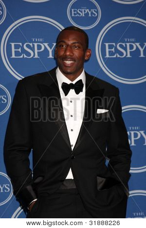 LOS ANGELES - JULY 14:  Amar'e Stoudemire  in the Press Room of the 2010 ESPY Awards at Nokia Theater - LA Live on July 14, 2010 in Los Angeles, CA