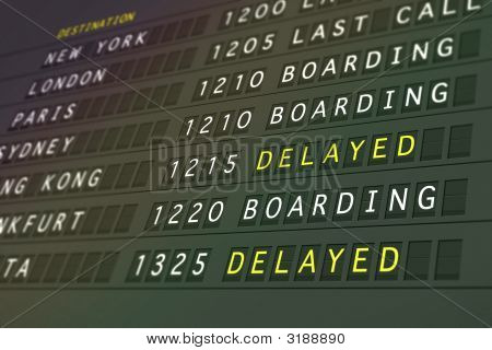 Flights Delayed