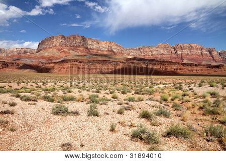 Vermillion Cliffs along Highway 89 in Utah and Arizona, USA