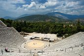 stock photo of argo  - Epidauros Theater  - JPG