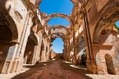 Ruins Of Belchite, Spain, Town In Aragon That Was Completely Destroyed During The Spanish Civil War  poster