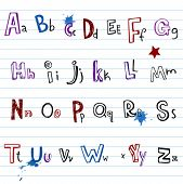 Funky doodle font