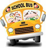 Frazzled School Bus Driver
