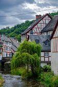 The Beautiful And Picturesque Village Of Monreal In Eifel Region In Germany poster