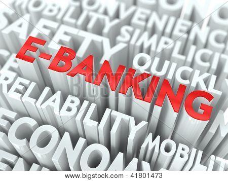 E-Banking Concept.