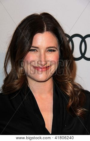LOS ANGELES - FEB 4:  Kathryn Hahn arrives at the Hollywood Reporter Celebrates the 85th Academy Awards Nominees event at the Spago on February 4, 2013 in Beverly Hills, CA