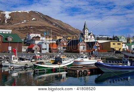 Icelandic Seaport