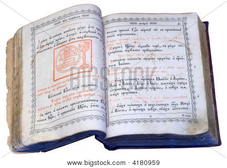 Opened Slavic Ancient Book 2