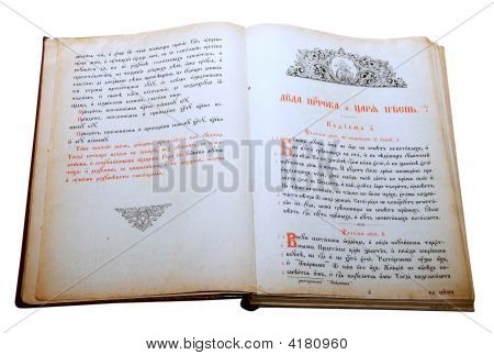 Opened Slavic Ancient Book 3