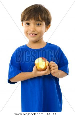 Child And Apple