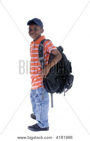 Estudiante negro