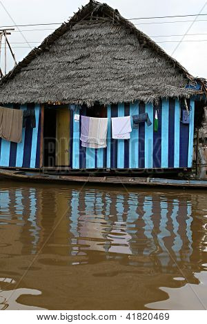 Häuser in Belen-peru