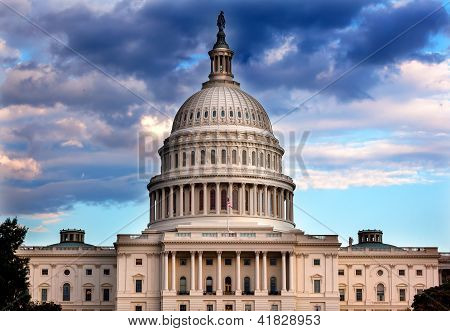 Us Capitol Dome Houses Of Congress Washington Dc
