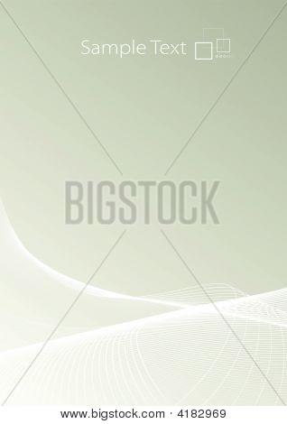 Slick Lined Art Background