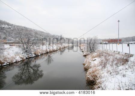 Calm Winter Scene