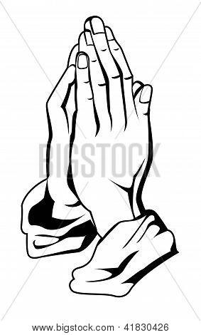 mão de oração