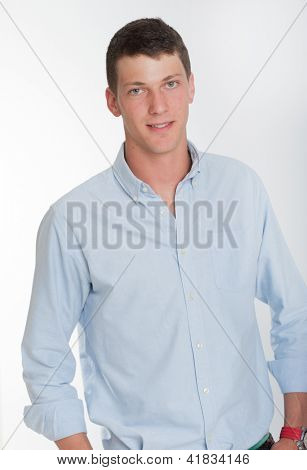 Portrait of a young man in his early twenties