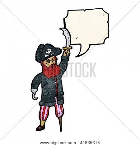 cartoon pirate captain giving orders