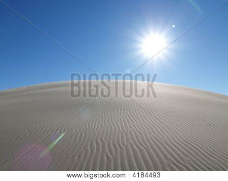 Blazing Desert